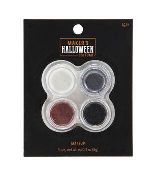 Maker's Halloween Costume Cosmetic Glitter Makeup Set-Vampire