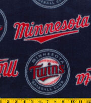 "Minnesota Twins Fleece Fabric 58""-Tossed, , hi-res"