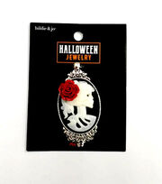 hildie & jo Halloween Jewelry Female Skeleton Pendant, , hi-res