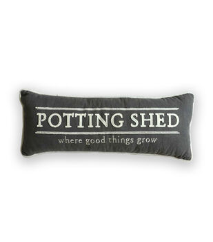 In The Garden Pillow-Potting Shed