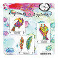 Art By Marlene 2.0 Animals Cling Stamp-Feathers