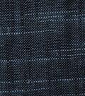 Premium Quilt Cotton Fabric-Yarn Dye Blue Black Chambray
