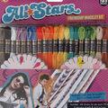 Iris Friendship Bracelet Craft Thread Party Pack Kit-All Stars