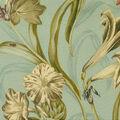 Waverly Sun N Shade Fabric 9\u0022x9\u0022 Swatch-Somerset Botanic Mist