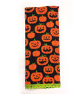 Maker\u0027s Halloween 16\u0027\u0027x28\u0027\u0027 Towel-Pumpkin Jack-o\u0027-lantern Patch