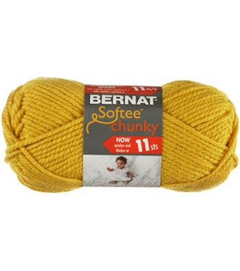 Bernat Softee Chunky Yarn-Glowing Gold