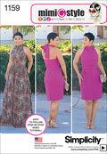 Simplicity Pattern 1159H5 6-8-10-12--Dresses