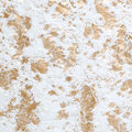 Lightweight Décor Fabric-Gold & Cream Belboa with Foil