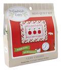 Sew Simple Handmade Happy Mini Quilt Kit-Cherries