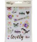 Simple Stories Bliss 3 pk 4\u0027\u0027x6\u0027\u0027 Clear Sticker Sheets