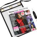 Fauxchet Easyloop Yarn Tool & Fauxchet Stitching Book 1-Beginner Basics
