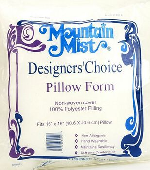 Mountain Mist Designer's Choice Pillow Forms