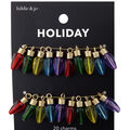 hildie & jo Holiday Charms-Multi Color Christmas Lights