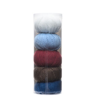 Big Twist Gradient 5 pk Yarns-Preppy Blue