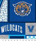Villanova Wildcats Fleece Fabric-Logos