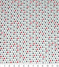 Quilter\u0027s Showcase Cotton Fabric-Red & Navy Geo Triangle