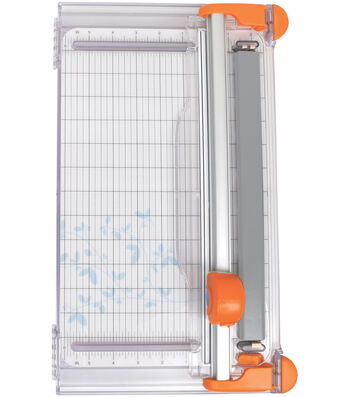 Fiskars SureCut LED Rotary Trimmer 12-28mm