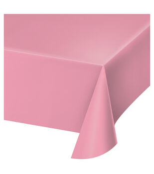 Table Cover-Light Pink