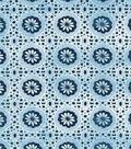 Keepsake Calico Cotton Fabric-Lucy\u0027s Floral Grid