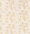 Keepsake Calico Fabric -Beige Tonal Floral