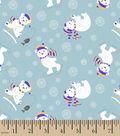 Snuggle Flannel Fabric 42\u0027\u0027-Polar Bear Fun