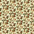 Harvest Cotton Fabric-Fall Berry Cream