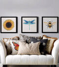 Square By Design Woven Fabric 25\u0022-Bumble Bee