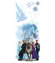 York Wallcoverings Peel & Stick Wall Decals-Frozen Winter Burst, , hi-res