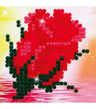"Diamond Embroidery Facet Art Kit 4.7""X4.7""-Bliss Bud"
