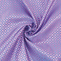 Cosplay by Yaya Han Brocade Fabric 58\u0022-Japanese Geometric Blue & Pink
