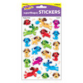 Puppy Pals superShapes Stickers-Large 16 Packs