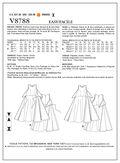 Vogue Patterns Misses Dress-V8788