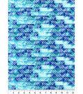 Nursery Flannel Fabric -Gordan Watercolor Geometric