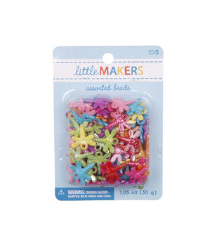 Little Makers 1.05 oz. Dragonfly Beads-Multi