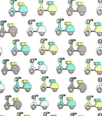 Doodles Juvenile Apparel Fabric 57''-Scooters