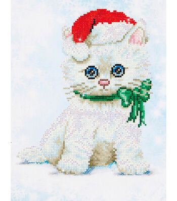 Diamond Dotz Diamond Embroidery Facet Art Kit 12.75x15.75-Chrissy Kitty
