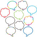 Speech Thought Bubbles Accents 30/pk, Set Of 6 Packs