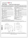 Mccall Pattern V8794 E5 (14-16--Vogue Pattern
