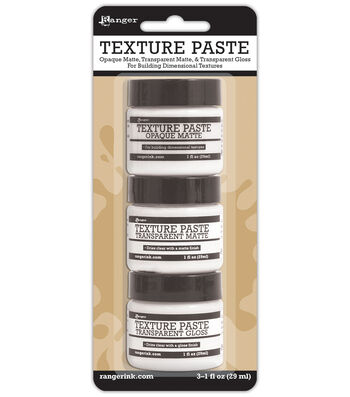 Ranger 3 pk 1 oz. Texture Paste Jars