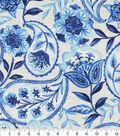 Kelly Ripa Home Upholstery Swatch 13\u0027\u0027x13\u0027\u0027-Bluejay Happy Hour