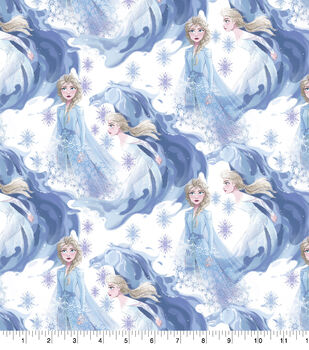 Disney Frozen 2 Cotton Fabric-Elsa In Her Element