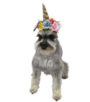 Maker's Halloween Pet Accessory-Unicorn Hat Small/Medium