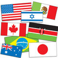 International Flags Accent Punch Outs 72/pk, Set Of 6 Packs