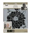 FolkArt 8.5\u0027\u0027x9.5\u0027\u0027 Craft Stencil Value Pack-Garden