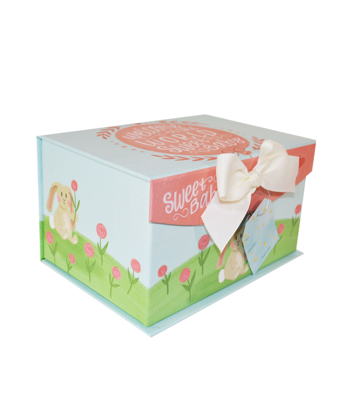 Organizing Essentials Small Fliptop Storage Box Sweet Baby 2