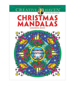 Dover Creative Haven Christmas Mandalas Coloring Book