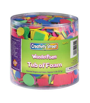 WonderFoam Tub of Foam Shapes