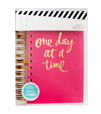 Heidi Swapp Personal Memory Planner Spiral Bound-One Day at a Time