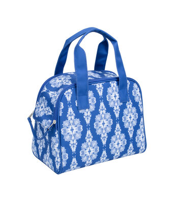 Everything Mary Zip Around Knitting Tote