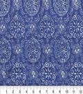 Keepsake Calico Cotton Fabric 44\u0022-Kenzan Denim